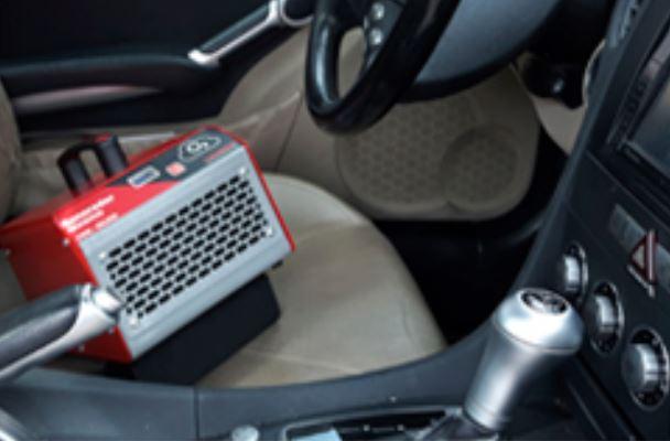 Ventajas y beneficios de la desinfección con ozono para el coche