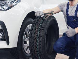 dónde colocar los neumáticos nuevos